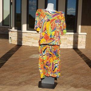 Bonnie Boynton skirt and top size  medium
